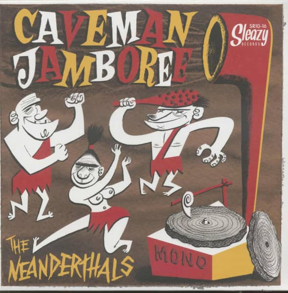 Caveman Jamboree (LP, 10inch)