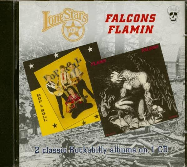 LoneStars - Bop & Roll & Falcons - Flamin (CD)