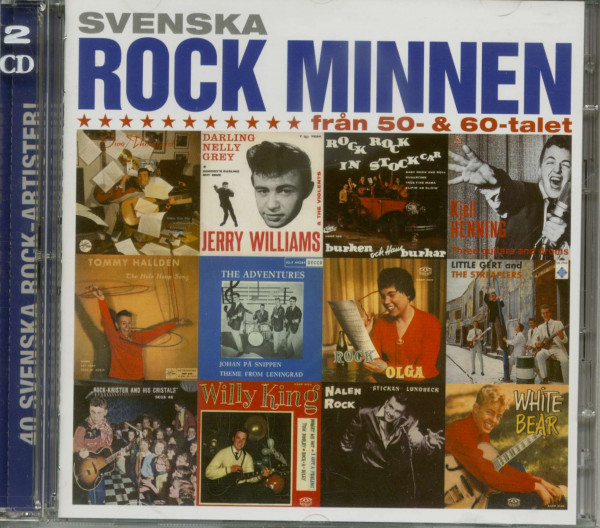 Svenska Rock Minnen 1950 - 60s Vol.1 (2-CD)