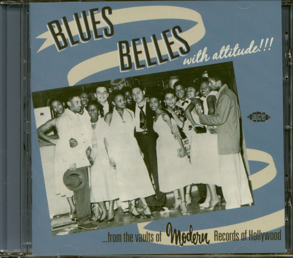 Blues Belles With Attitude!!! (CD)
