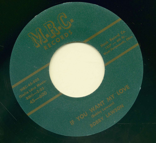 Baby Don't Be That Way - If You Want My Love (7inch, 45rrpm)