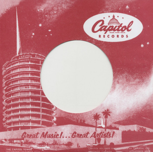 (50) Capitol, Canada - 45rpm record sleeve - 7inch Single Cover