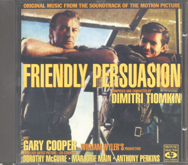 Friendly Persuasion - Original Motion Picture Soundtrack (CD)