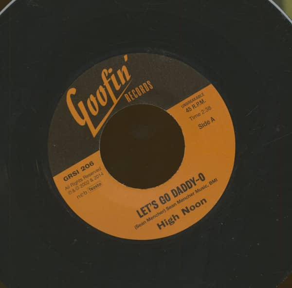 Let's Go Daddy-O - Hanging (From The Old Oak Tree) (7inch, 45rpm)
