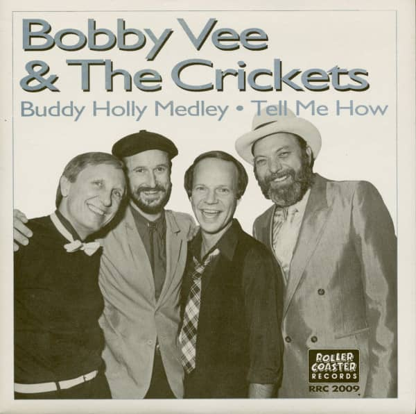Bobby Vee & The Crickets: Buddy Holly Medley - Tell Me How (7inch, 45rpm, PS, SC)