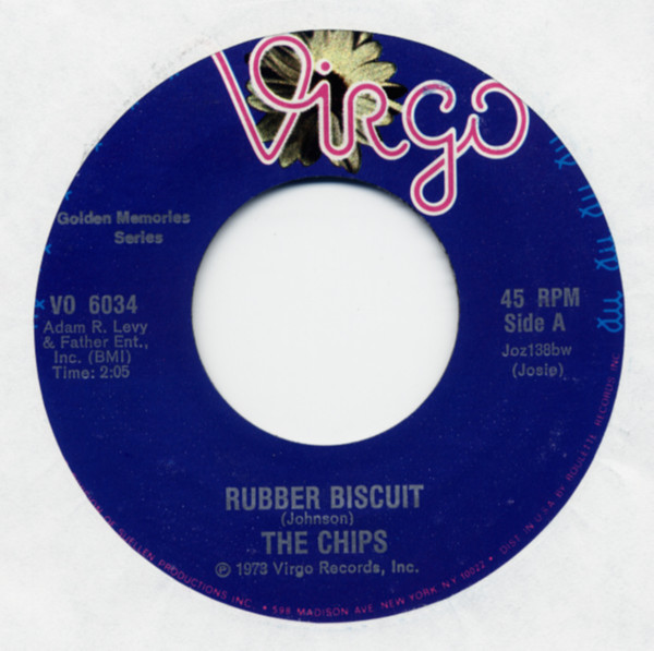 Rubber Biscuit b-w If You Love Me 7inch, 45rpm