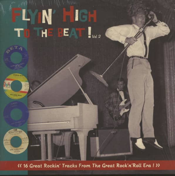 Flyin' High To The Beat, Vol.2 (LP, Ltd.)