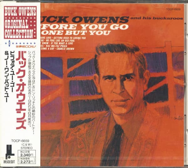 Before You Go - No One But You (CD, Japan)