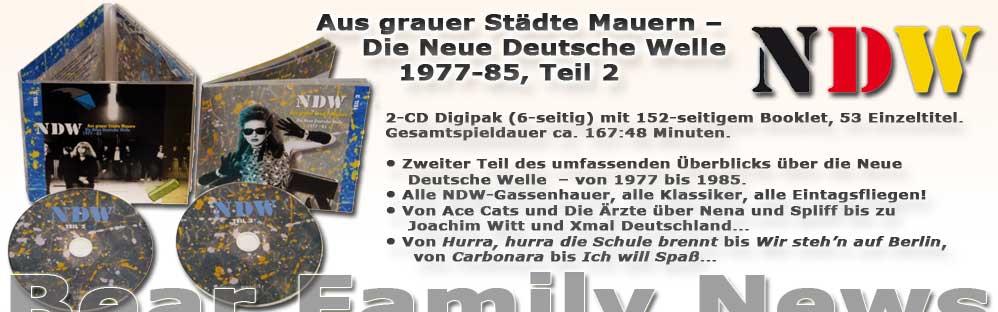 Aus grauer Städte Mauern - Die Neue Deutsche Welle (NDW) 1977-85