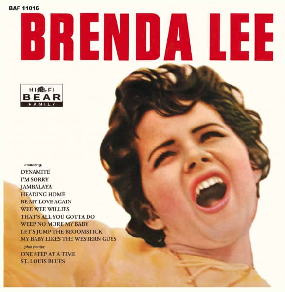 Brenda Lee (LP, 10inch, Ltd.)