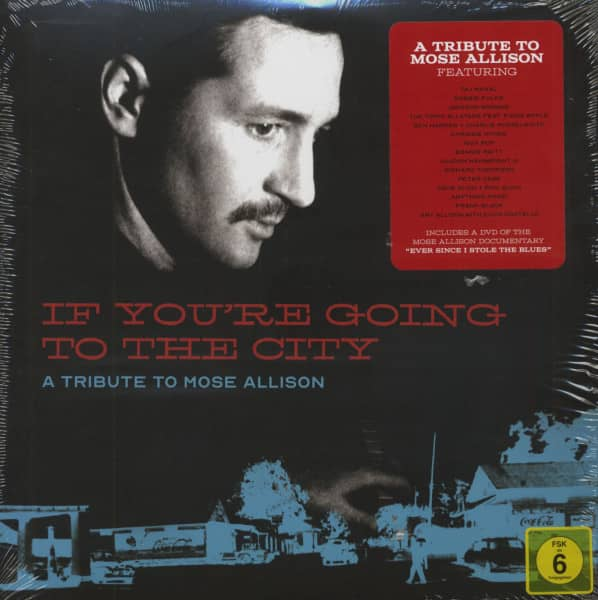 If You're Going To The City - A Tribute To Mose Allison (2-LP, 180g-Vinyl & DVD)