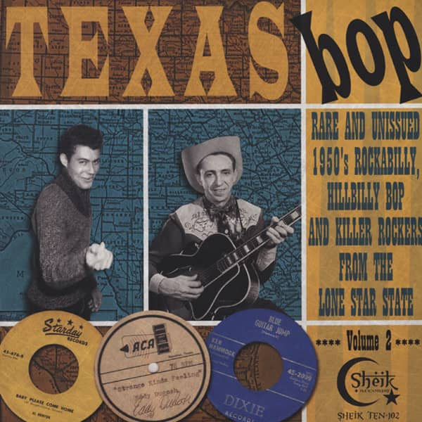 Vol.2, Texas Bop - 10'LP