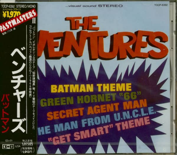 Batman Theme (CD, Japan Edition)