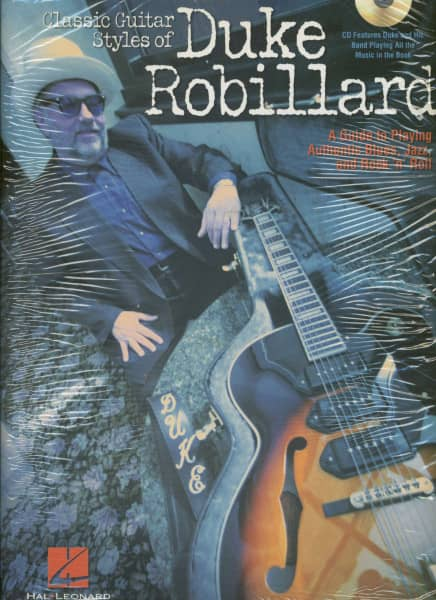 Robillard Duke Classic Guitar Styles Gtr Book/Cd