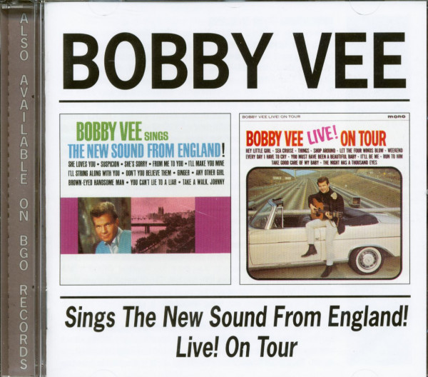 Sings The New Sound From England - Live On Tour (CD)