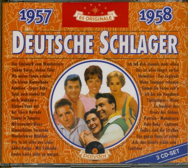 Deutsche Schlager 1957-1958 3-CD