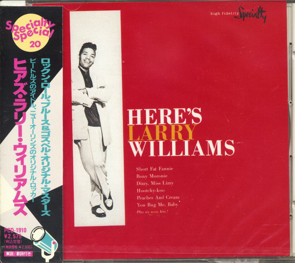 Here's Larry Williams (CD, Japan)