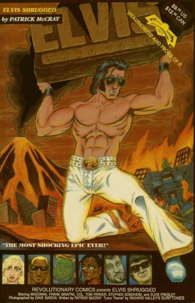 Elvis Shrugged (Comic) - by Patrick McCray