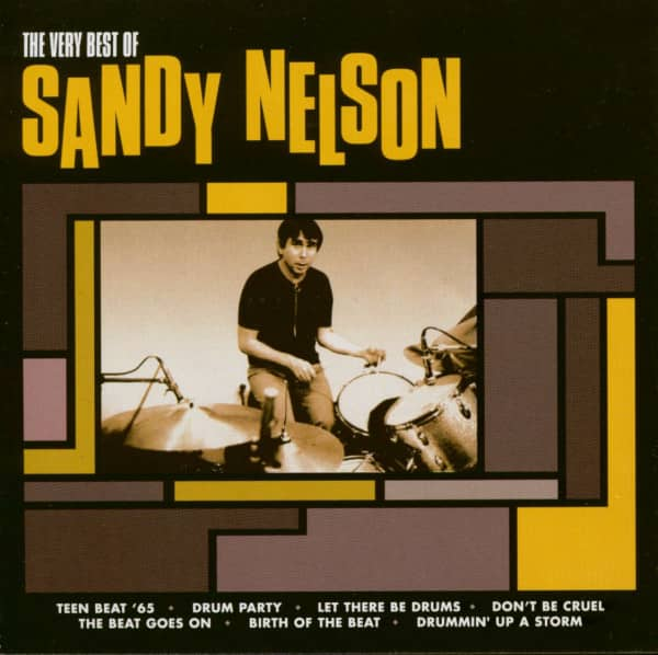 The Very Best Of Sandy Nelson (CD)