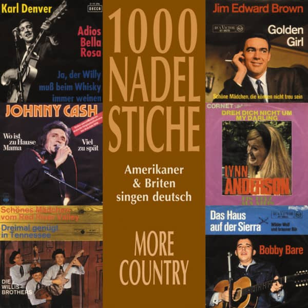 Vol.07, Country & Schlager - Amerikaner & Briten singen deutsch