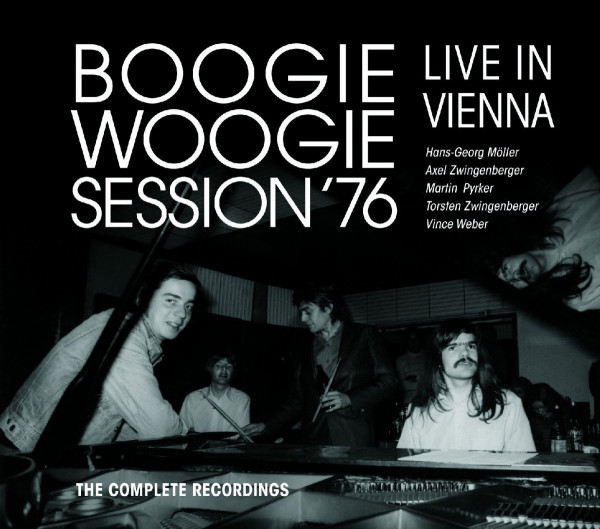 Boogie Woogie Session '76 (2-CD, 1-DVD)