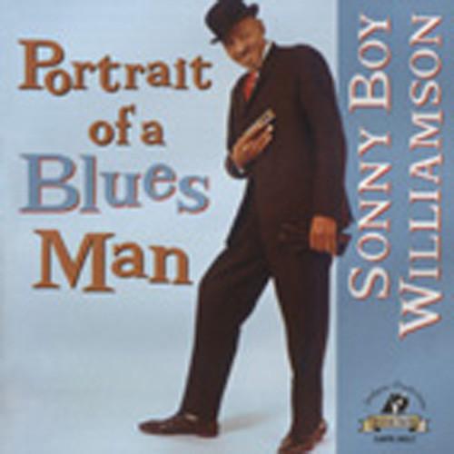Portrait Of A Blues Man