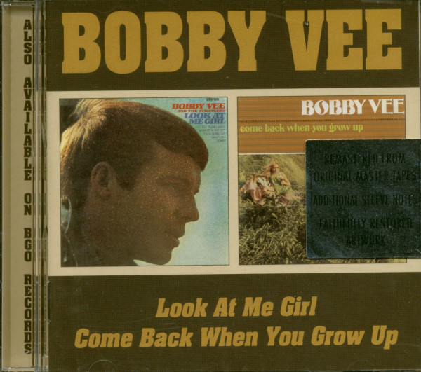 Look At Me Girl & Come Back When You Grow Up (CD)