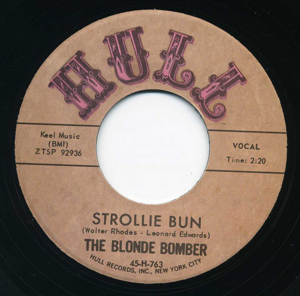Strollie Bun - I Am To Blame 7inch, 45rpm