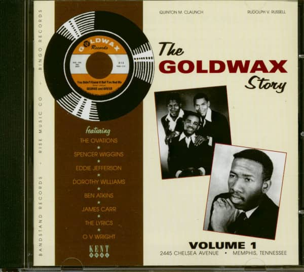 The Goldwax Story Vol.1 (CD)