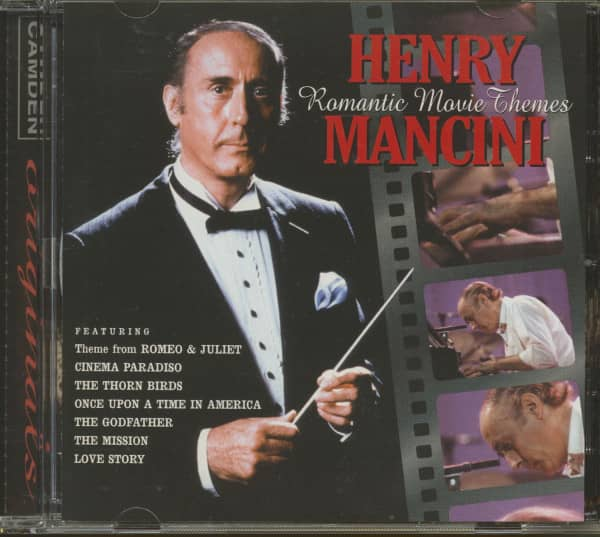 Romantic Movie Themes (CD)