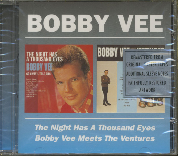 The Night Has A Thousand Eyes - Bobby Vee Meets The Ventures (CD)