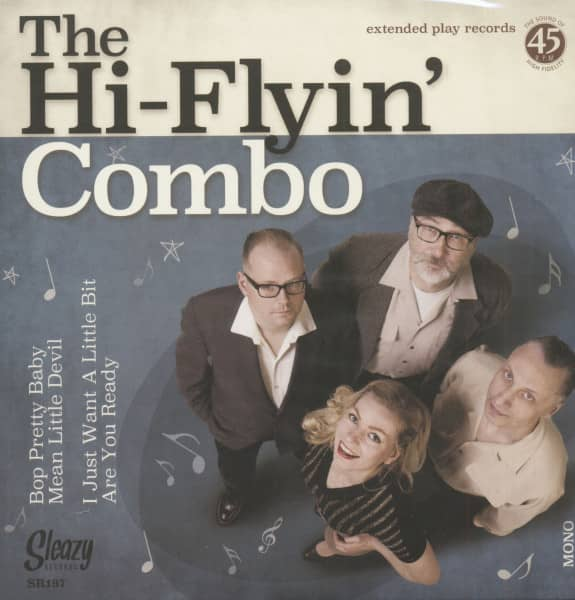 The Hi-Flyin' Combo (7inch, EP, 45rpm, PS)