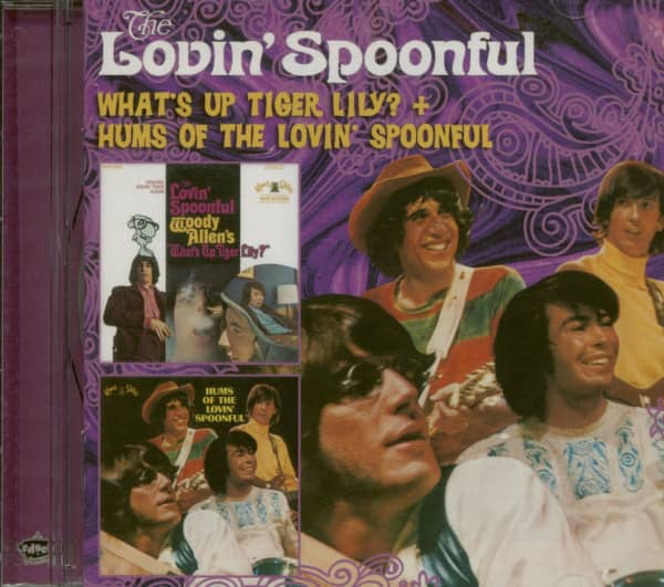 What's Up Tiger Lily - Hums Of Lovin'...plus (CD)