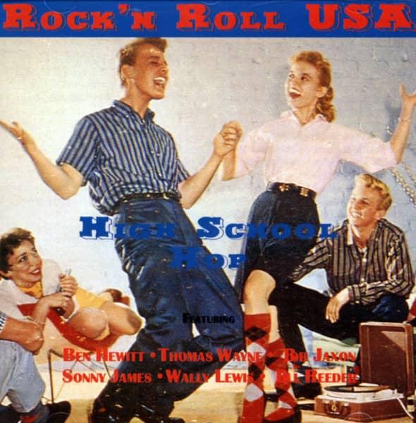 Rock'n'Roll USA - High School Hop (CD)
