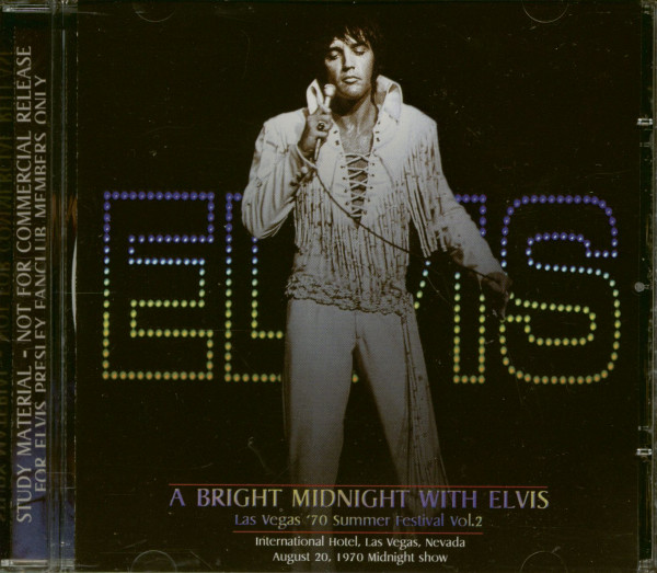 A Bright Midnight With Elvis (CD)
