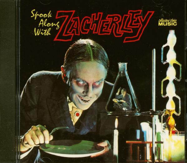 Spook Along With Zacherley (CD)