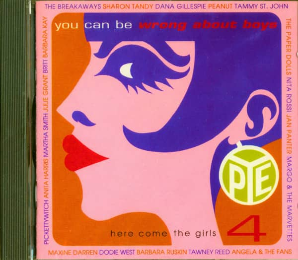 You Can Be Wrong About Boys - Here Come The Girls Vol.4 (CD)