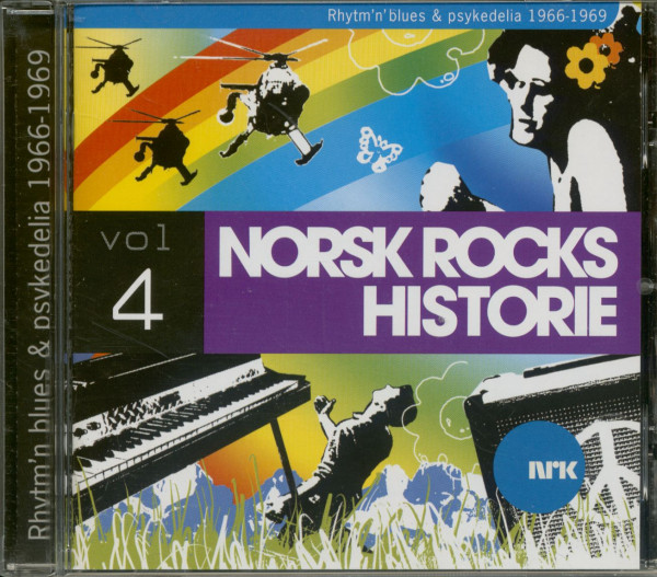 Norsk Rock Historie - R&B & Psych 1966-69 (CD)