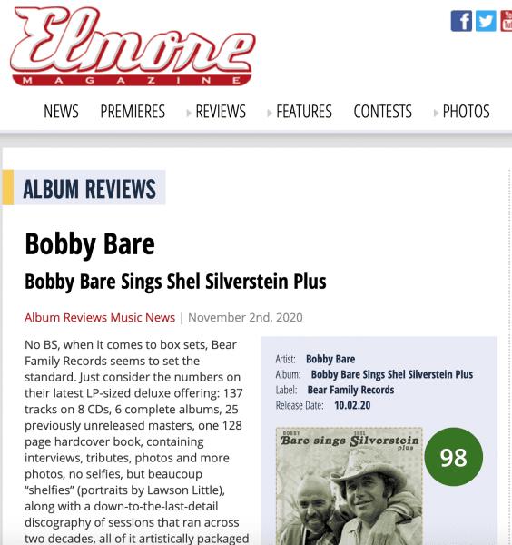 Presse-Archive-Bobby-Bare-Bobby-Bare-Sings-Shel-Silverstein-plus-Elmore-magazine