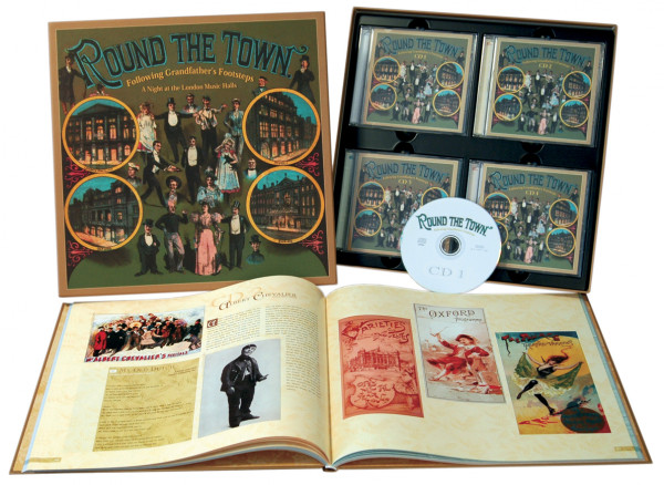 Round The Town 4-CD BOX & 132-PAGE BOOK