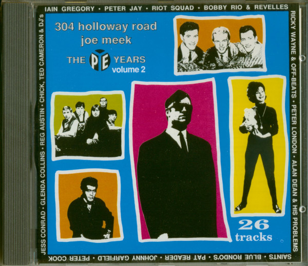 304 Holloway Road - Joe Meek-The Pye Years Vol.2 (CD)