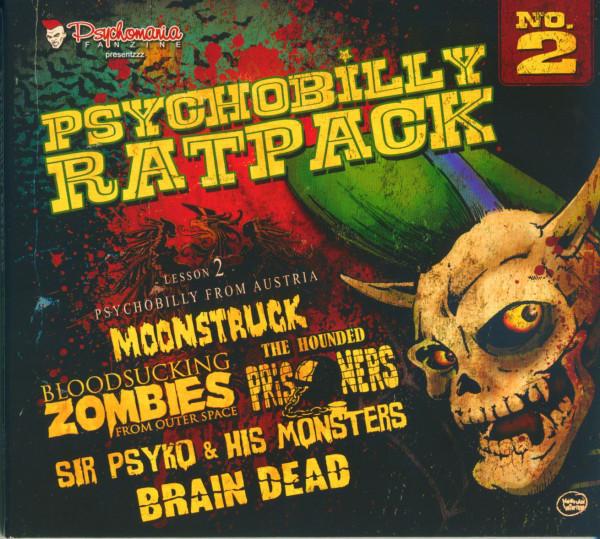 Psychobilly Rat Pack - Lesson 2 (CD Digipak)