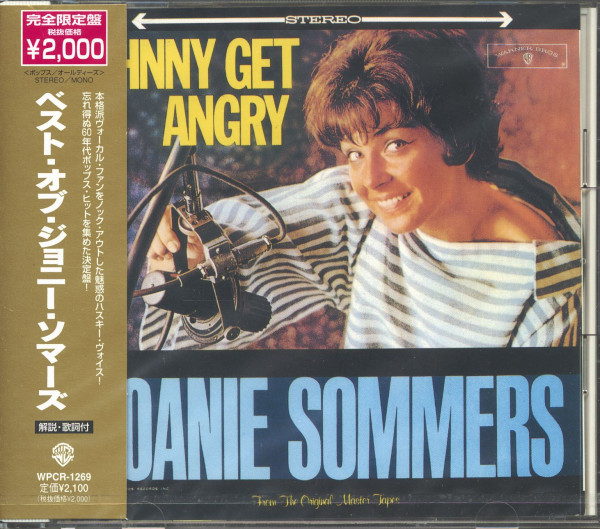 Johnny Get Angry (CD, Japan)
