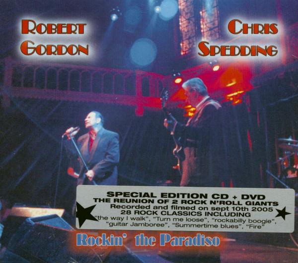 Rockin' The Paradiso (CD&DVD)