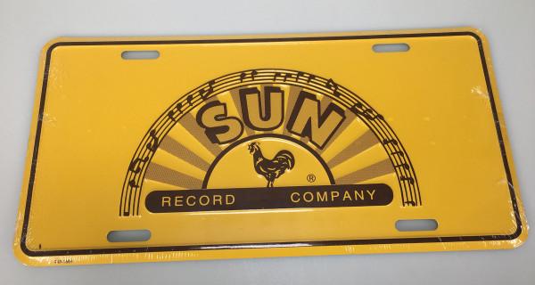 Sun Records License Plate - Nummernschild