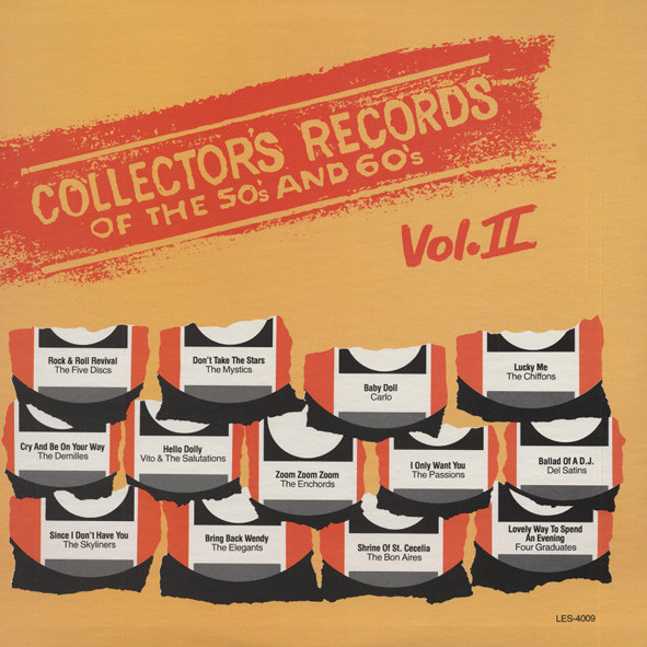 Collector's Records Of The 50s &ampamp; 60s Vol.2