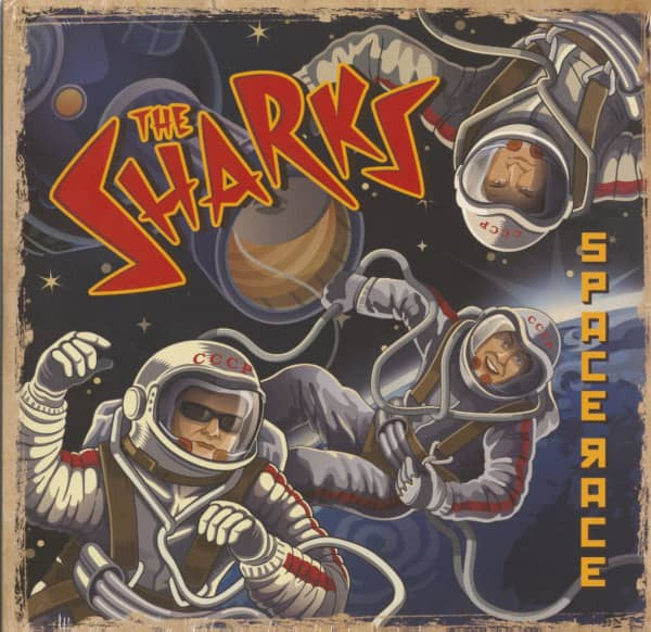 Space Race (10inch EP, 45rpm, Limited Edition)