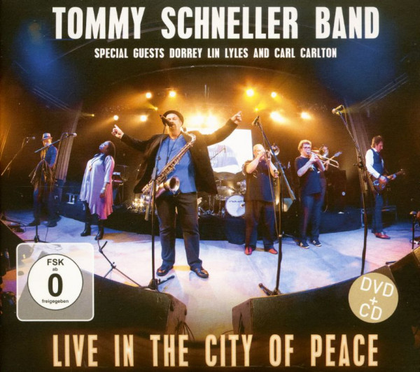 Live In The City Of Peace (CD & DVD)