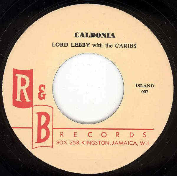 Caldonia - One Kiss For My Baby 7inch, 45rpm