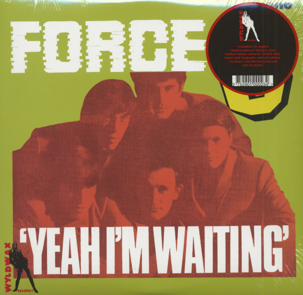 Yeah I'm Waiting (LP, 10inch, Yellow Vinyl, Ltd. & Numbered)